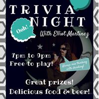 Trivia Night with Elliot Martinez
