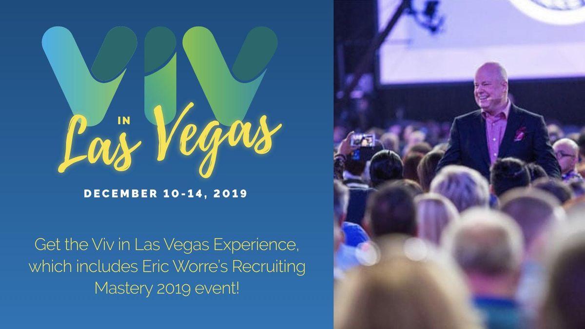 Viv in Las Vegas Attend Eric Worre GoPro w the Viv Experience Dec 10-14