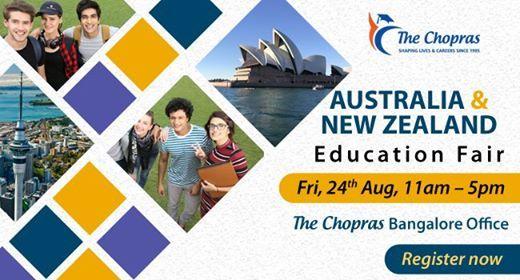 Welcome To AusNz Education Fair 2018 By The Chopras