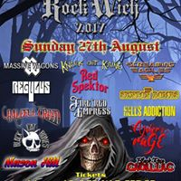 Black Rose Cadillac play RockWich Festival 2017