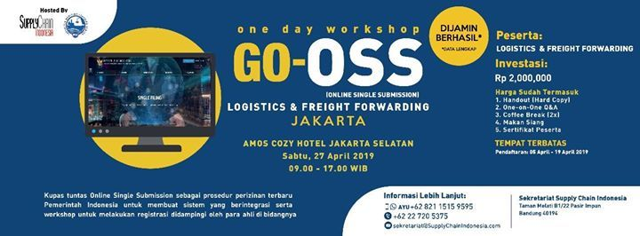 One Day Workshop Go-Oss (Online Single Submission)