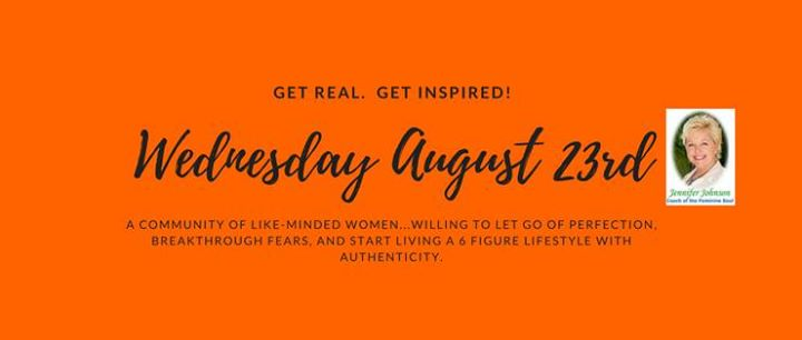 Get real. Get inspired 4th Wednesday Business Meetup