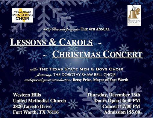 4th Annual Lessons & Carols