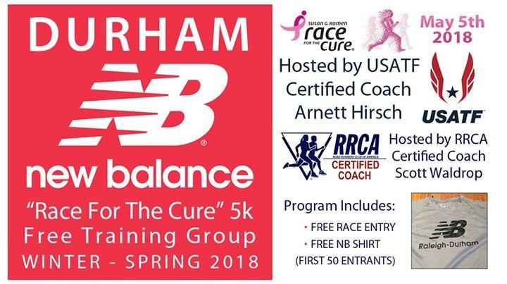 Durham 5k Training Kick Off at New Balance Durham, Durham