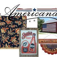 Monthly Artist Trading Card Swap - Theme Americana