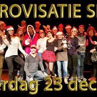 Improvisatie - Theatersport Kerst Special 2017