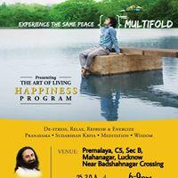 Art of Living Happiness Program Lucknow