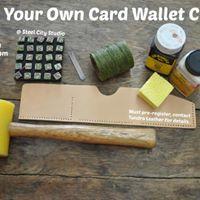 DIY Card Wallet Class