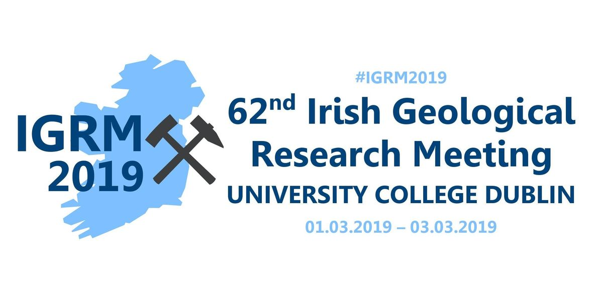 62nd Irish Geological Research Meeting 2019 (IGRM 2019)