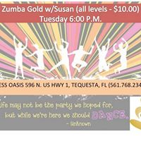 Zumba Gold - All Levels 10.00