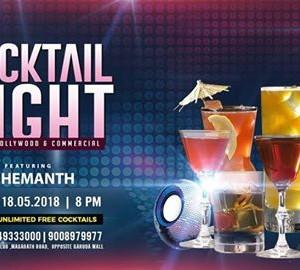 Cocktail Night Ft. DJ Hemanth at Nolimmits Lounge &amp Club