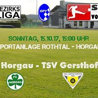 FC Horgau - TSV Gersthofen (14.Spieltag BZL Nord)