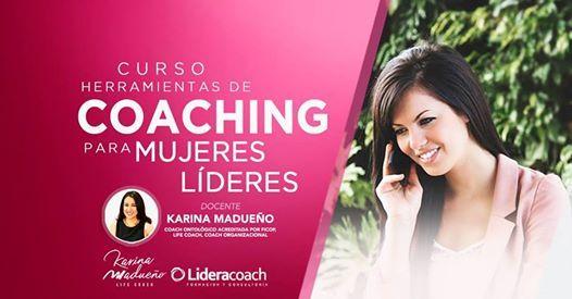 Herramientas de Coaching para Mujeres Lderes 23 de Agosto.