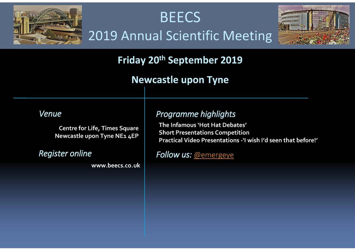 British Emergency Eye Care Society Annual Meeting 2019