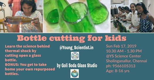 Young Scientists - Learn Thermal Shock By Repurposing A Bottle.