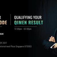 Singapore Master Your Wealth Code &amp Qualifying Your QiMen Result