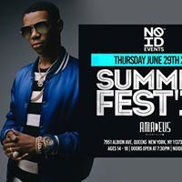 A Boogie x Summer Fest at Amadeus Night Club - Queens NY (6.29)