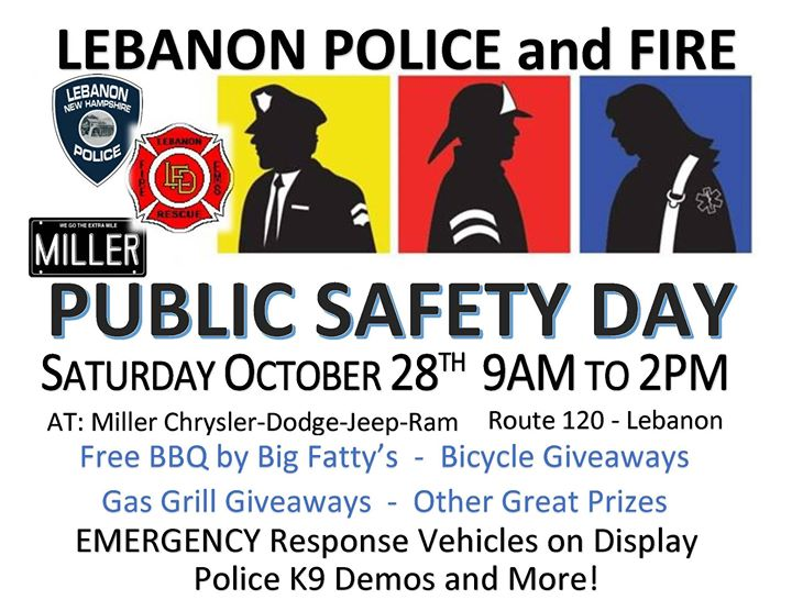 Safety banners for safety day giveaways