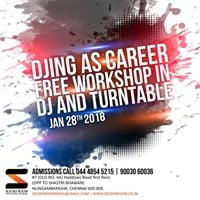 Free Workshop On DJ  EMP  TurnTables - Soundroom