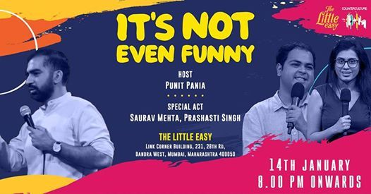 Its Not Even Funny - A Standup Comedy Open Mic