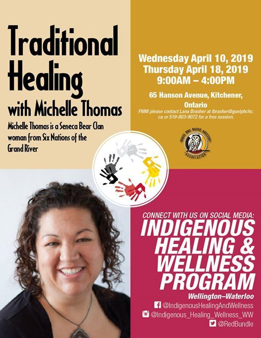 Traditional Healing with Michelle Thomas