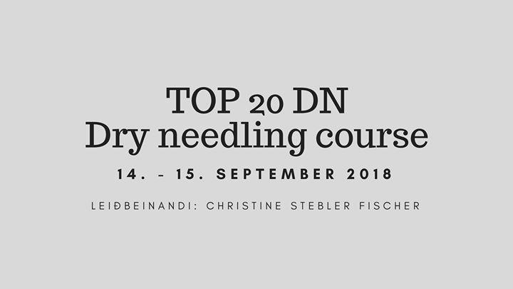 Námskeið FS: TOP 20DN - dry needling course at Íþrótta- og ...