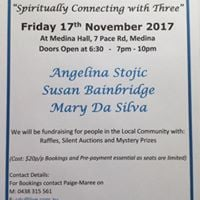 Spiritually Connecting with Three - November Spiritual Evening