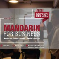Mandarin for Business - Trial Class