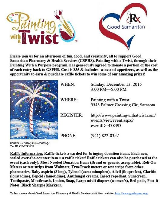 Paint with a twist sarasota for Painting with a twist arizona