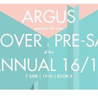 Pre-Event ARGUS EXPO &amp Annual 201617