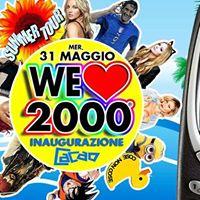 We Love 2000 PARTY Torino DARI Cacao - Mercoled 31 Maggio
