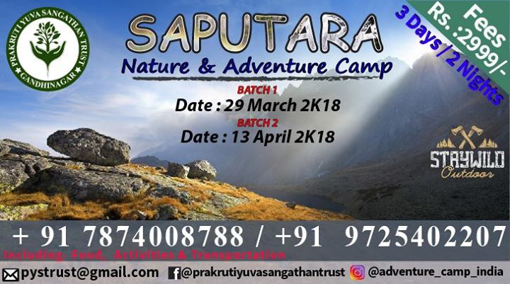 Saputara Nature & Adventure Camp
