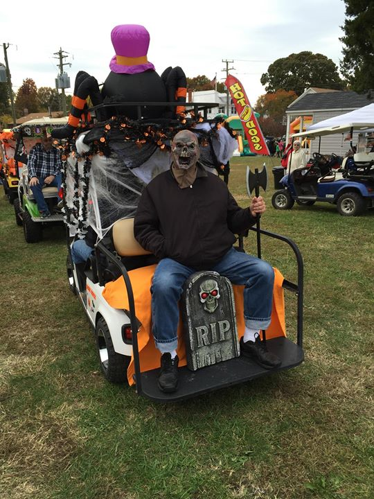 4th Annual Fall Festival And Halloween Golf Cart Parade At