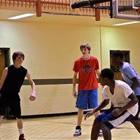 Holiday Hoops 2 on 2 Basketball Skills Challenge
