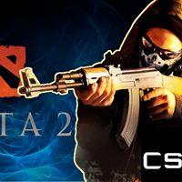DOTA2 AND CS 1.6 TOURNAMENT.