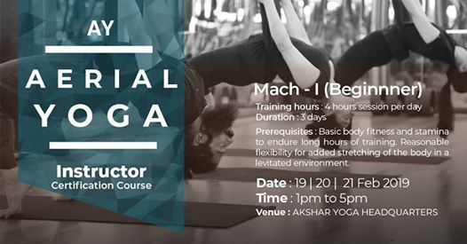 AY Aerial Yoga Licence Course Level I