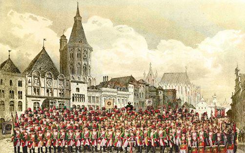 Altstdter-Sitzung Fest in Grn-Rot
