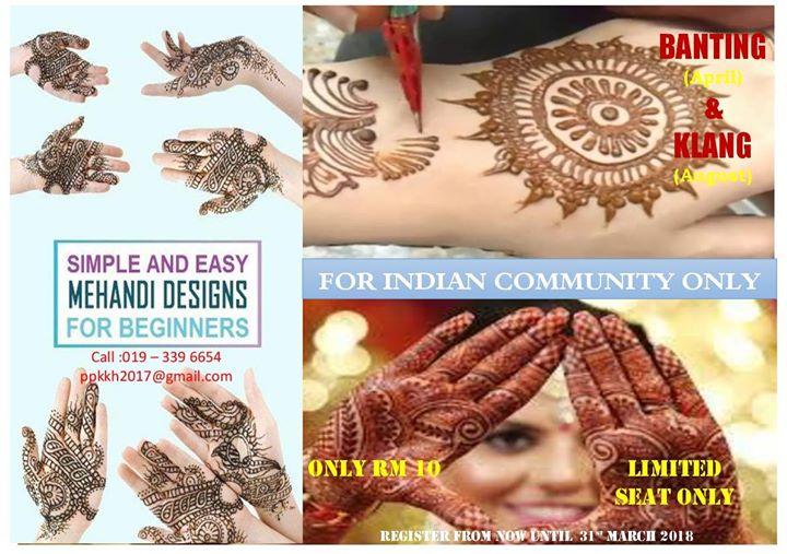 Basic Henna Course. In Klang & Banting