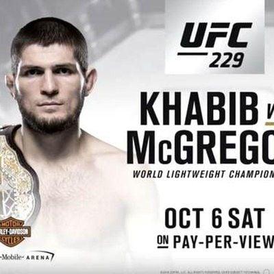 McGregor vs Khabib at JD McGillicuddys Manayunjk