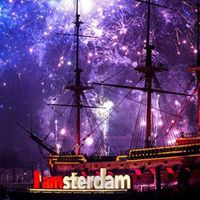 New Years Eve Celebration in Amsterdam