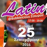 Latin party at Bubbleicious Stavrou with Caliente dance studio