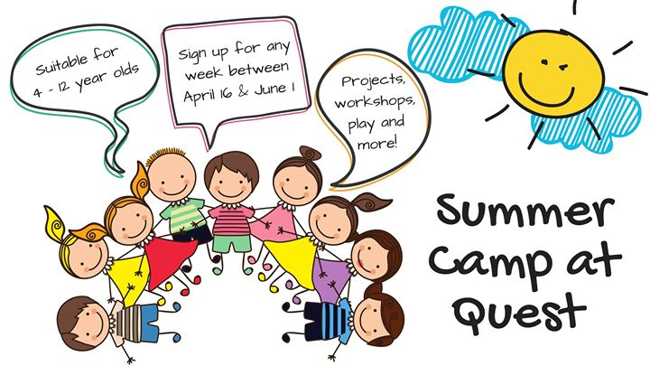 Summer Camp at Quest (for 7 - 12 year olds)
