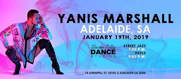 Yanis Marshall Adelaide Workshops