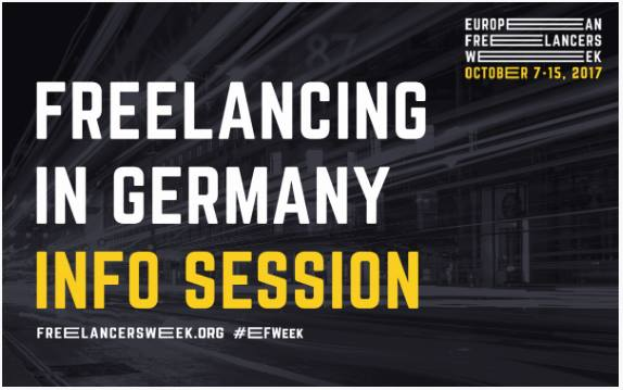 Freelancing in Germany Info Session