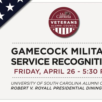 Gamecock Military Service Recognition