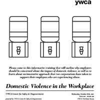 Domestic Violence in the Workplace Training