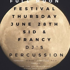 Full moon party live music djs and more