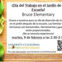 Da del trabajo en el jardn de la escuela - Bruce Elementary