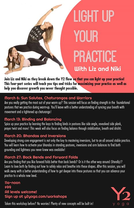 Light Up Your Practice With Liz and Niki