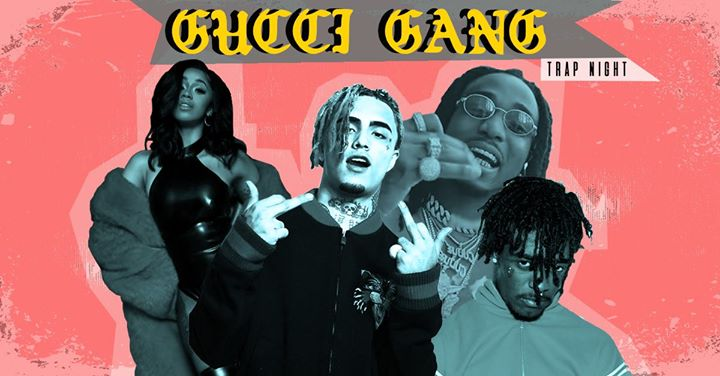 gucci gang trap night leicester at 2funky music cafe. Black Bedroom Furniture Sets. Home Design Ideas